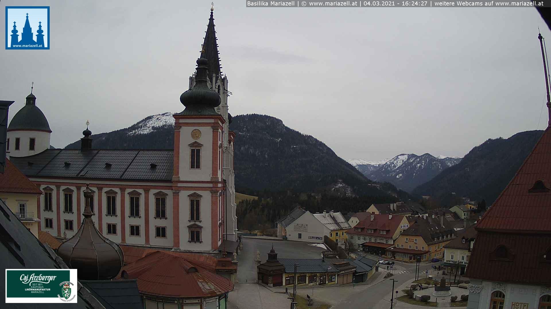 Basilika Mariazell - © Mariazell Online mit freundlicher Unterstützung von Kaufhaus & Likörmanufaktur Arzberger